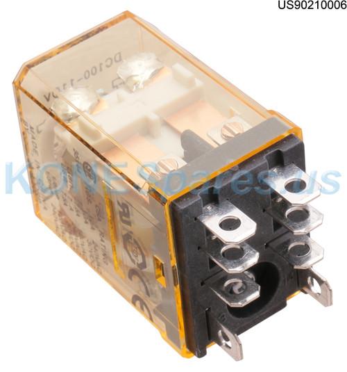 RH2B-ULDC100-110V RELAY PLUG-IN 2PDT 100 VDC