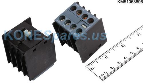 3RH2911-1FA22 Auxiliary Switch Block 2 NO + 2 NC
