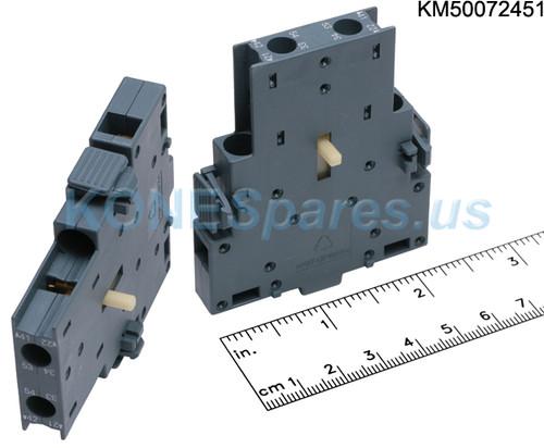 3RH2911-1DA11 Auxiliary Contact Block 1 NO + 1 NC 690V 10A