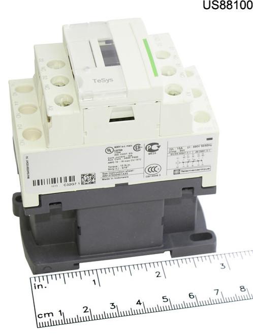 CAD-32G7 RELAY CONTROL 120VAC COIL 3P 10A@600V 2NC AUX