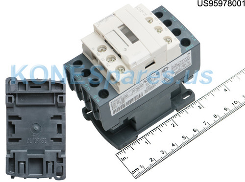 LC1 DT25G7 CONTACTOR 4P 600VAC 25AMPS