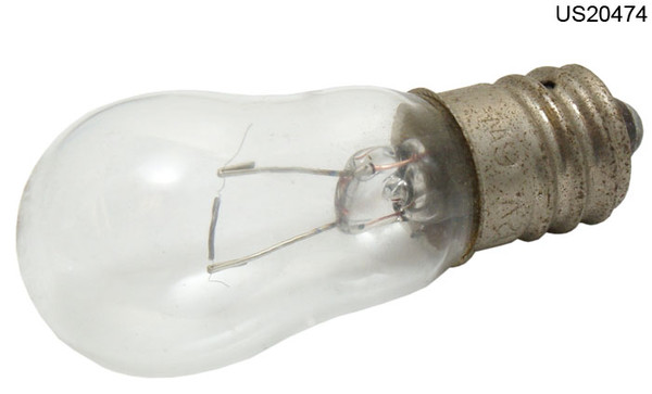 6S6-12V-CS LAMP 6W 12V CLEAR CANDLEAB
