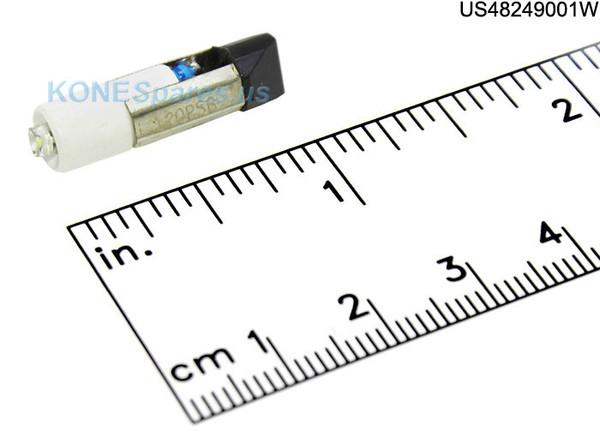 LED-120PSB-WHT LAMP SLIDE 120V/155V .025A LED WHITE