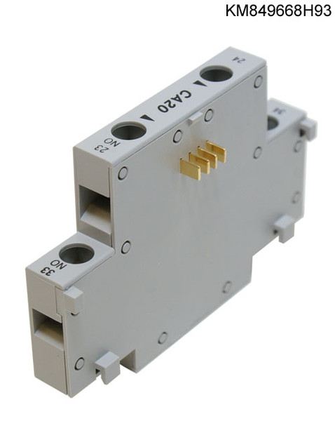 150-CA20 ALLEN BRADLEY CONTACTS AUXILIARY 2-N.O.