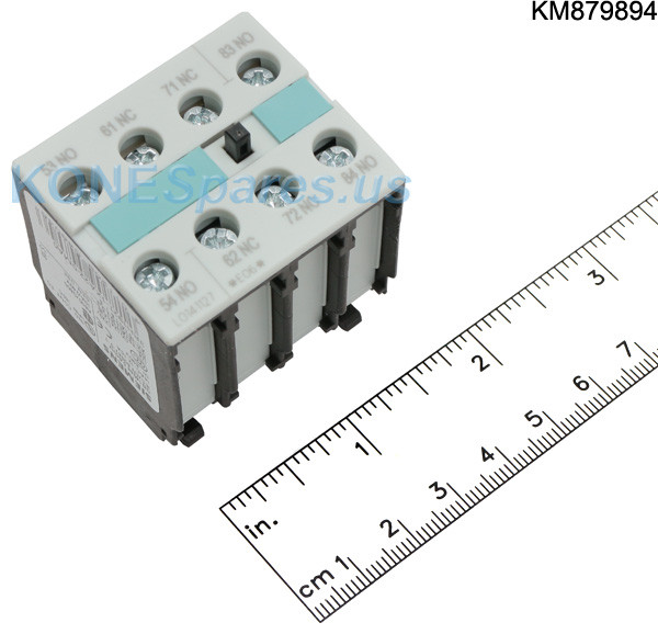 3RH1921-1XA22-0MA0 AUXILIARY CONTACT BLOCK 2XNO +2XNC