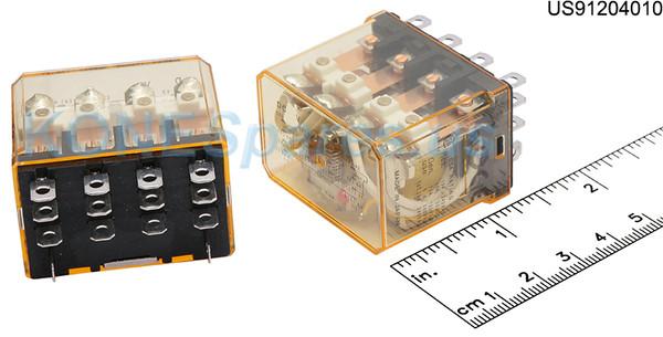 RH4BUL-DC48 RELAY PLUG-IN 48VDC 4PDT 10A