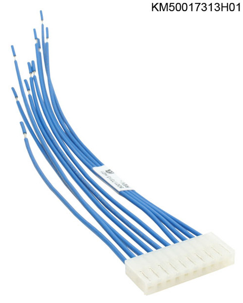 KM50017313H01 CABLE, 10 CIRCUIT BLU 18AWG MOLEX DSD412