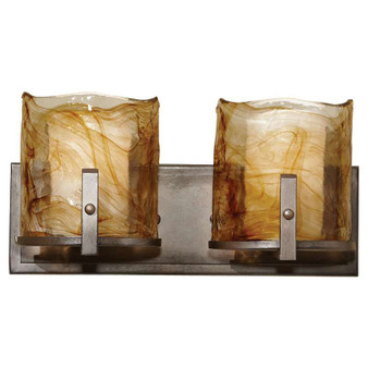 2 - Light Vanity Fixture,Roman Bronze,Bath & Vanity,Feiss Lighting