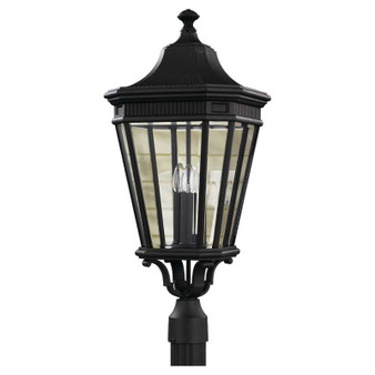 3 - Light Post,Black,,Feiss Lighting
