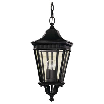 3 - Light Pendant,Black,Pendant,Feiss Lighting