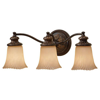 3-Light Vanity Strip,Grecian Bronze,Bath & Vanity,Feiss Lighting