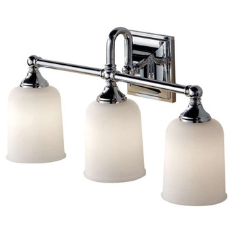 3 - Light Vanity Strip,Chrome,Bath & Vanity,Feiss Lighting