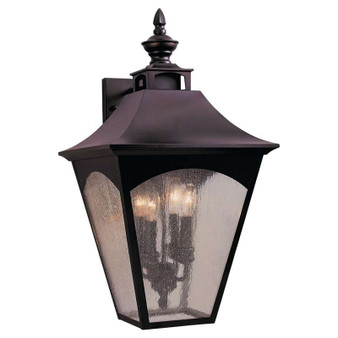 4 - Light Wall Lantern,Oil Rubbed Bronze,Wall Sconce,Feiss Lighting