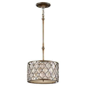 1-Light Pendant,Burnished Silver,Pendant,Feiss Lighting