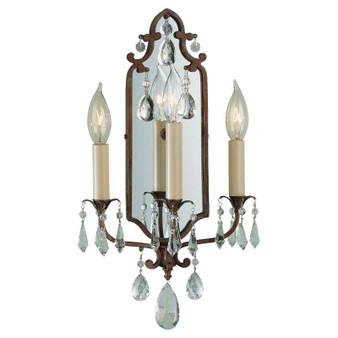 3 - Light Sconce,British Bronze,Bath & Vanity,Feiss Lighting