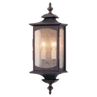 2 - Light Wall Lantern,Oil Rubbed Bronze,Wall Sconce,Feiss Lighting