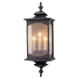 3 - Light Wall Lantern,Oil Rubbed Bronze,Wall Sconce,Feiss Lighting