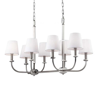 8 - Light Island,Satin Nickel / Polished Nickel,Island Light,Feiss Lighting