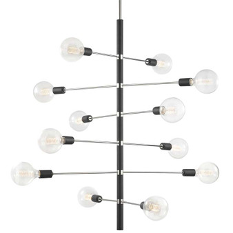 Mitzi by Hudson Valley Lighting H178812 Astrid 12 Light Chandelier