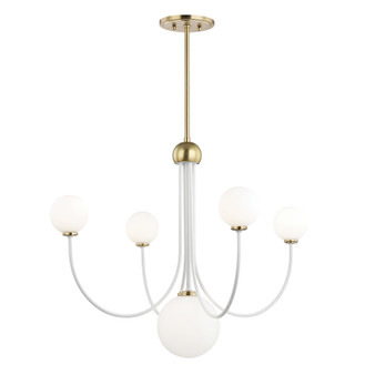 Mitzi by Hudson Valley Lighting H234805 Coco 5 Light Chandelier