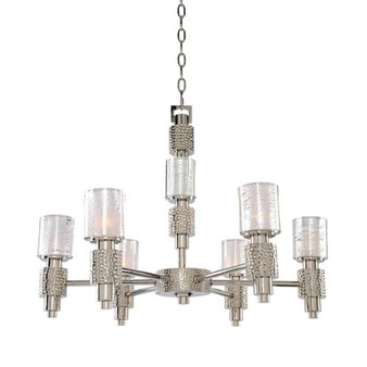 Ashington,Chandelier Polished Satin Nickel