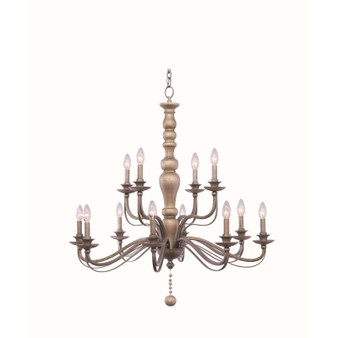 Colony,Chandelier Dune Silver