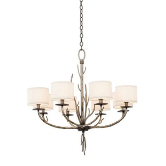 Denali,Chandelier Bronze Jewel Tone