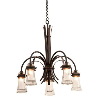 Dover,Chandelier Antique Copper