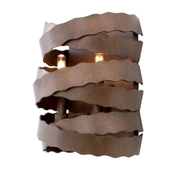 Fulton,Wall Sconce Brownstone