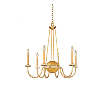 LaSalle,Chandelier Honey Gold