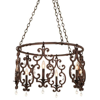 Montgomery,Chandelier Antique Copper