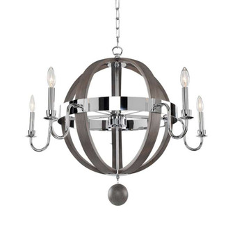 Sharlow,Chandelier Chrome