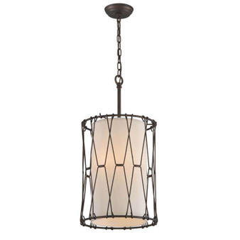 Buxton,Troy Lighting,Buxton 3lt Pendant Entry Small