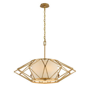 Calliope,Troy Lighting,Calliope 6lt Pendant Large