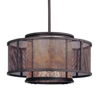 Copper Mountain,Troy Lighting,Copper Mountain 6lt Pendant Dining
