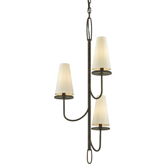 Marcel,Troy Lighting,Marcel 3lt Chandelier
