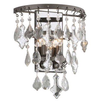 Meritage,Troy Lighting,Meritage 2lt Wall Sconce