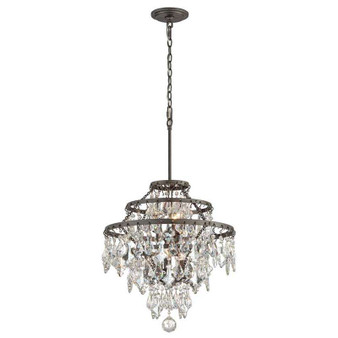 Meritage,Troy Lighting,Meritage 6lt Chandelier Medium