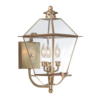Montgomery,Troy Lighting,Montgomery 3lt Wall Lantern Large