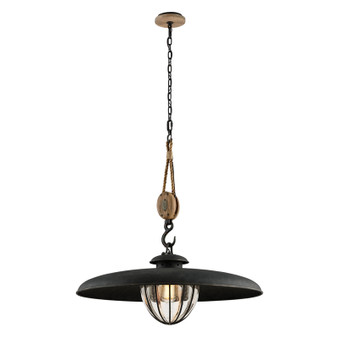 Murphy,Troy Lighting,Murphy 1lt Pendant With Shade Large