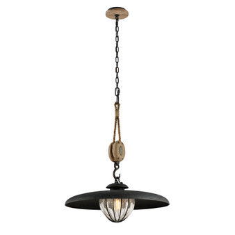 Murphy,Troy Lighting,Murphy 1lt Pendant With Shade Medium