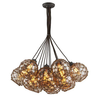 Outer Banks,Troy Lighting,Outer Banks 13lt Pendant Extra Large