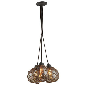 Outer Banks,Troy Lighting,Outer Banks 3lt Pendant Medium
