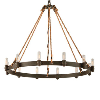 Pike Place,Troy Lighting,Pike Place 12lt Pendant Large