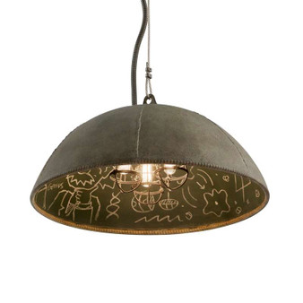 Relativity,Troy Lighting,Relativity 3lt Pendant Medium
