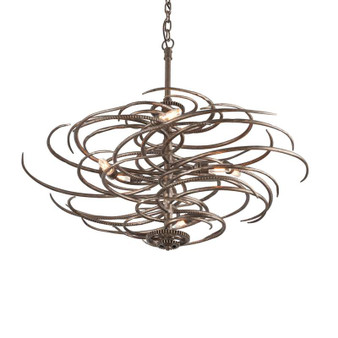 Revolution,Troy Lighting,Revolution 6lt Pendant Large
