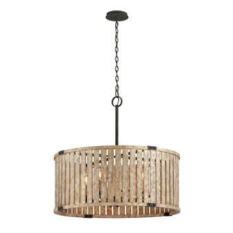 Stix,Troy Lighting,Stix 8lt Pendant Large
