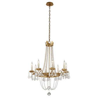Viola,Troy Lighting,Viola 8lt Chandelier Medium