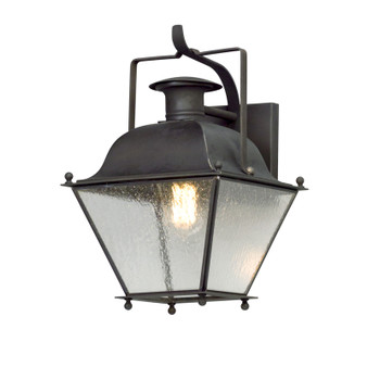 Wellesley,Troy Lighting,Wellesley 1lt Wall Lantern Small