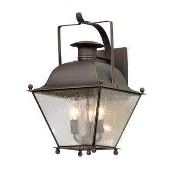 Wellesley,Troy Lighting,Wellesley 3lt Wall Lantern Medium